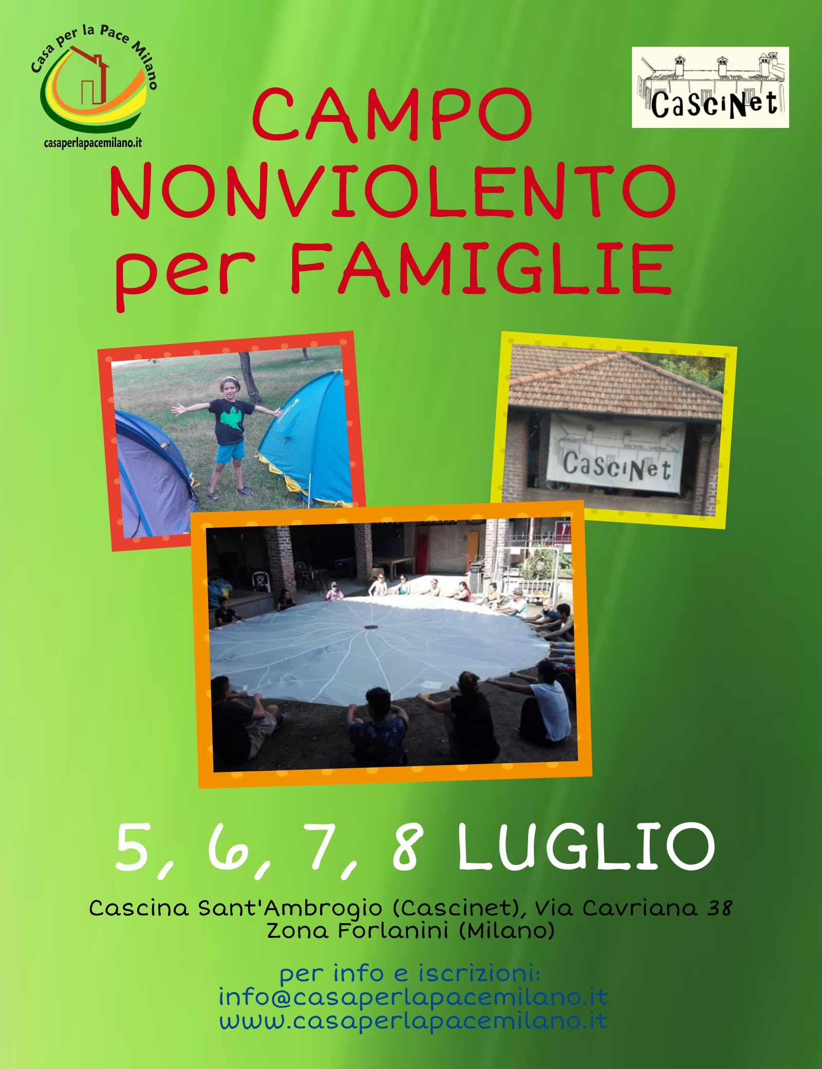Campo nonviolento per famiglie 2018