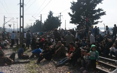 Aiuta i rifugiati di Idomeni