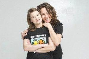 Volunteering in Moscow with Best Buddies, which helps people with mental disabilities