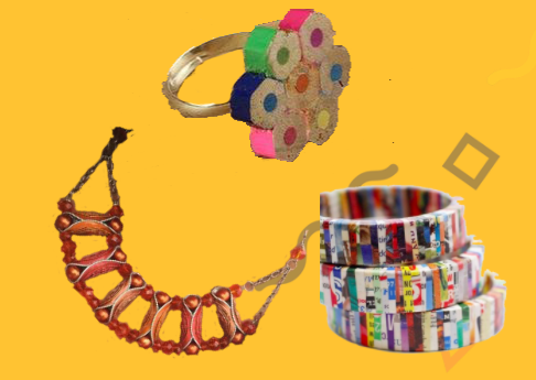 Facciamo gioielli con materiale di riciclo