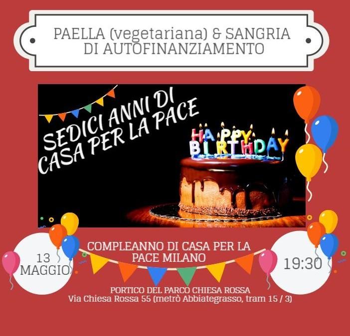 Festeggia con noi il nostro compleanno!