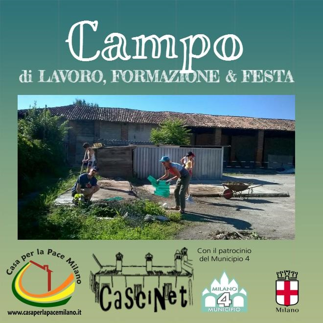 Campo di lavoro – formazione: estate 2017, a CascinaNet