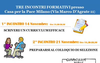 Laboratorio sul Curriculum Vitae, Orientamento e la ricerca attiva del lavoro