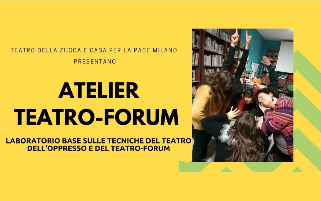 Laboratorio base sulle tecniche del Teatro dell'Oppresso e del Teatro-Forum