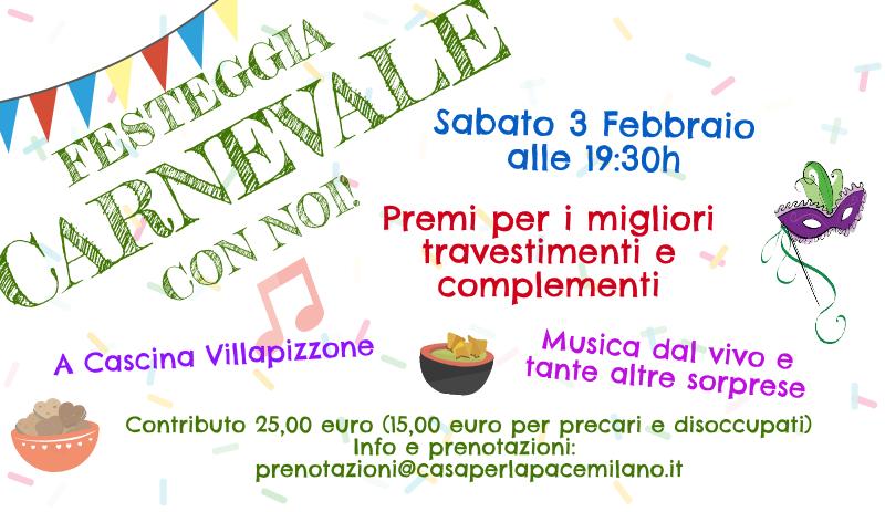 (Italiano) Festeggia il Carnevale con noi!