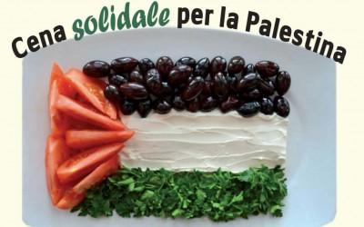 Cena solidale per la Palestina