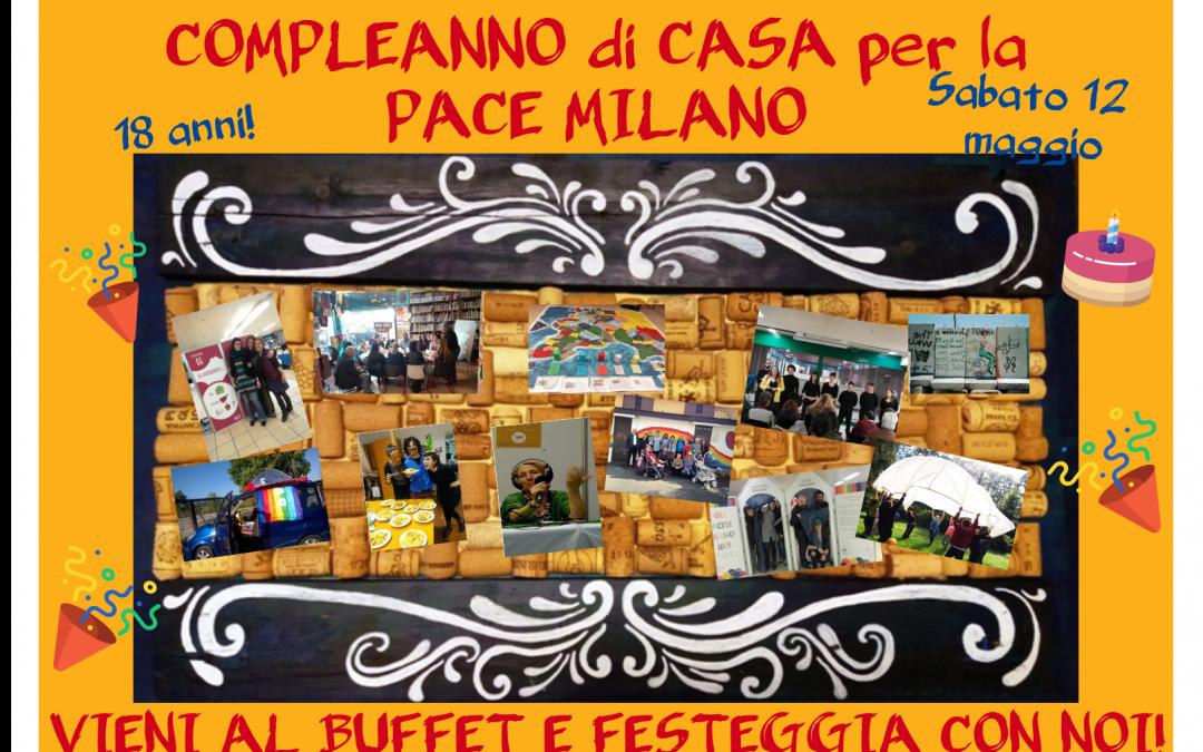 Compleanno di Casa per la Pace Milano