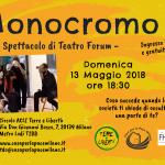 Spettacolo di Teatro Forum Monocromo
