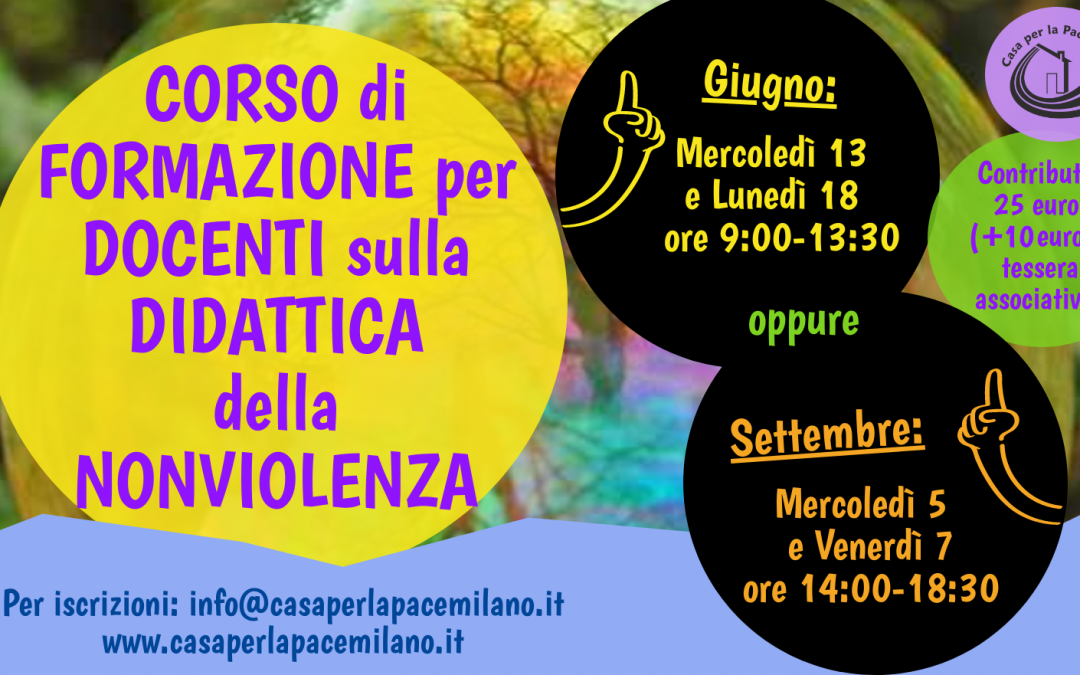 (Italiano) Educare alla nonviolenza. Strumenti didattici