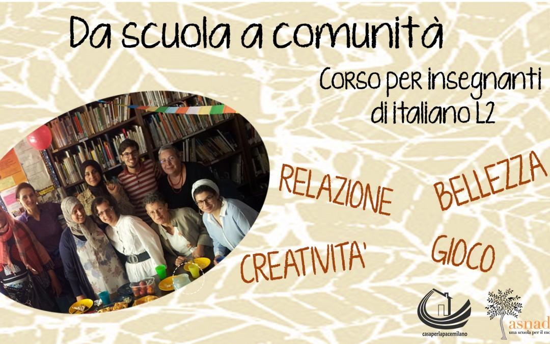 Corso per insegnanti di italiano L2