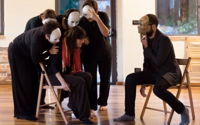 Monocromo Spettacolo di Teatro Forum