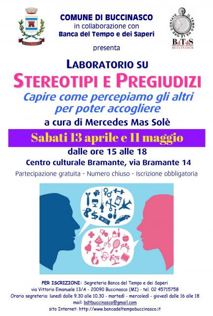 (Italiano) Laboratorio sustereotipi e pregiudizi