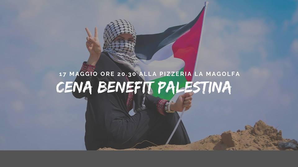 (Italiano) Cena benefit Palestina
