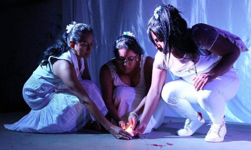 Incontrare la guarigione nella ferita:  il Teatro del Testimone